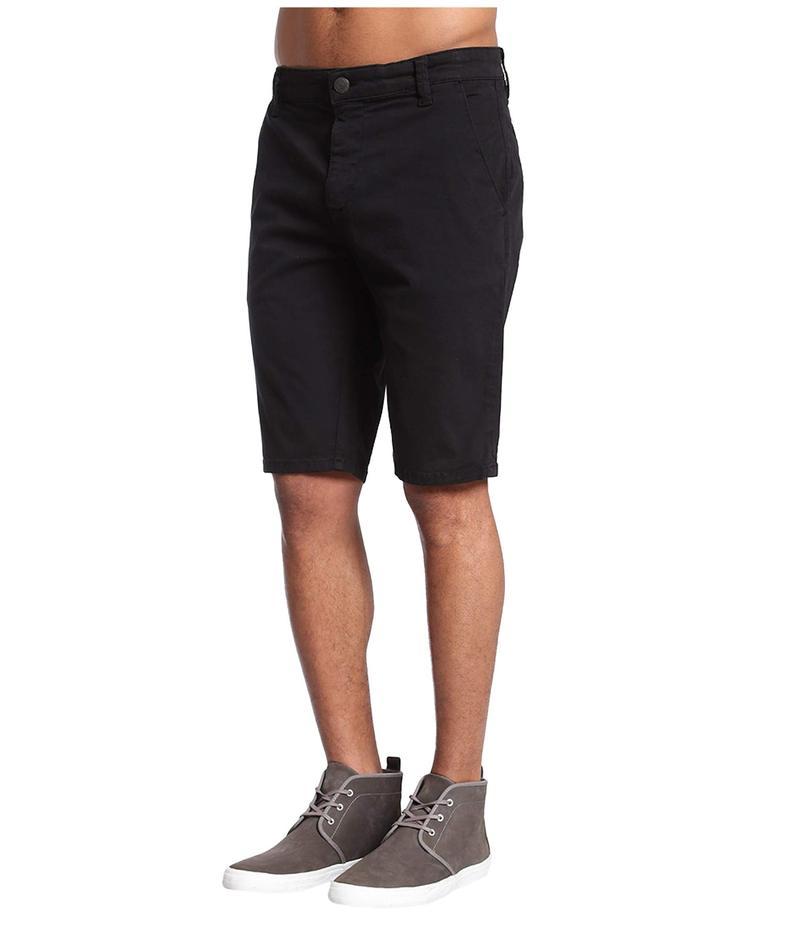 マーヴィ ジーンズ メンズ ハーフパンツ・ショーツ ボトムス Jacob Shorts in Black Sateen Twill Black Sateen Tw