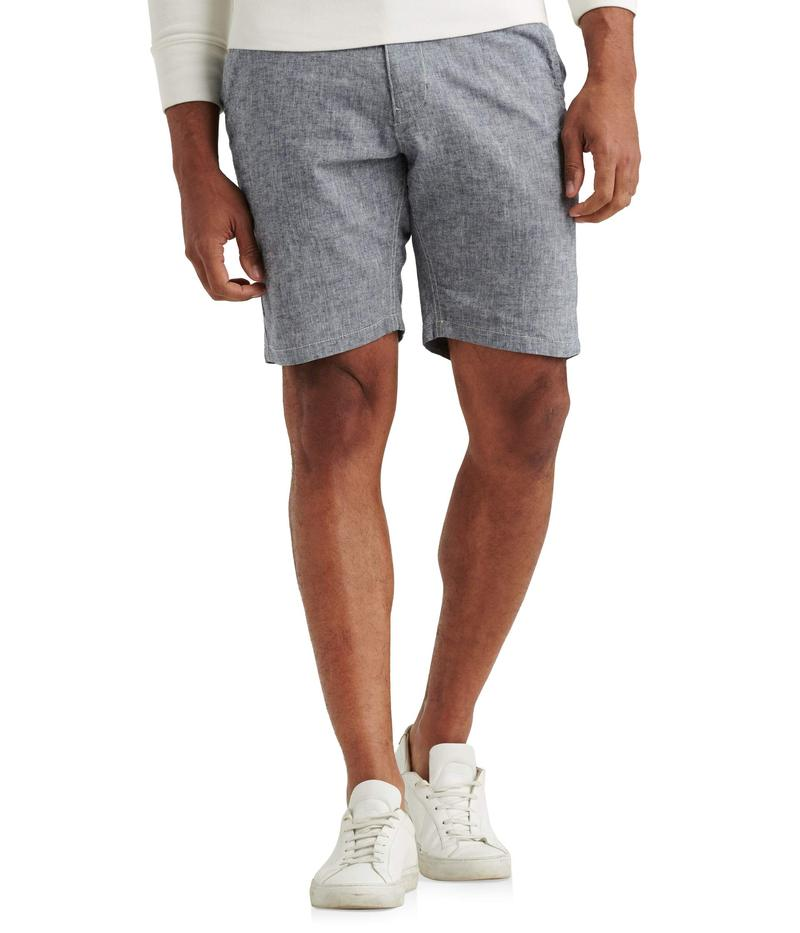 ラッキーブランド メンズ ハーフパンツ・ショーツ ボトムス Linen Flat Front Shorts Chambray