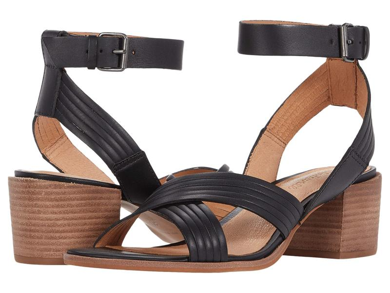 メイドウェル レディース ヒール シューズ Olson Multi Strap Heeled Ankle Strap Sandal True Black