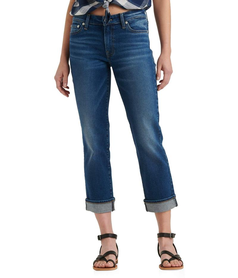 ラッキーブランド レディース デニムパンツ ボトムス Mid-Rise Sweet Straight Ankle Jeans in Finja Finja