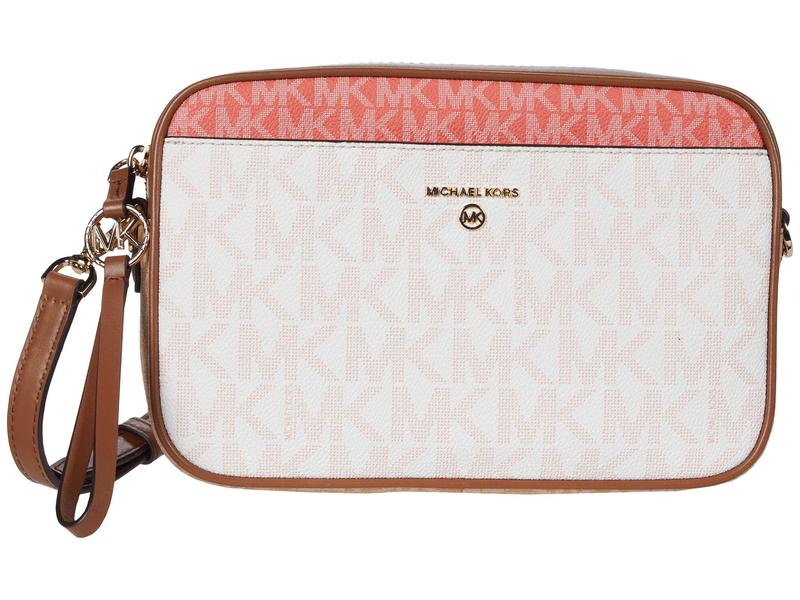 マイケルコース レディース ハンドバッグ バッグ Jet Set Charm Large East/West Camera Crossbody Pink Grapefruit