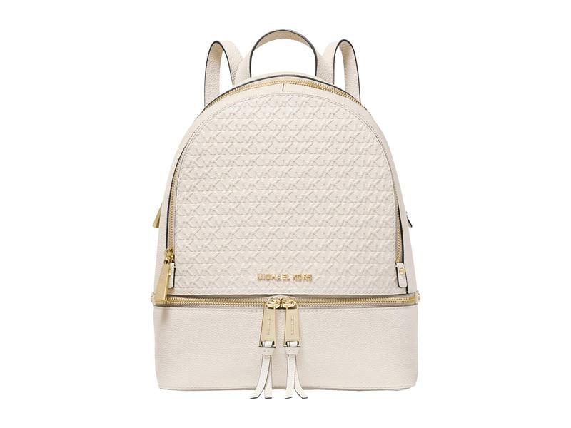 マイケルコース レディース バックパック・リュックサック バッグ Rhea Zip Medium Backpack Light Sand