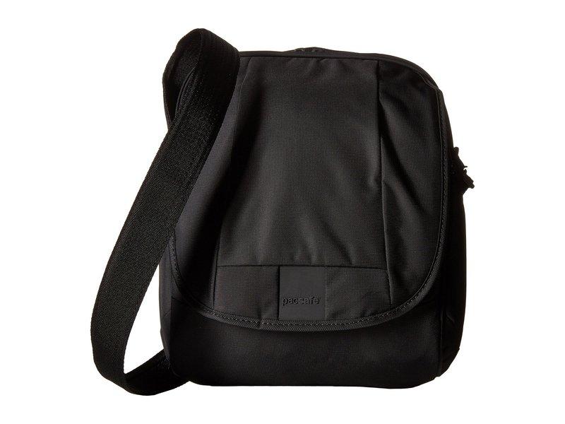 パックセーフ メンズ ハンドバッグ バッグ Metrosafe LS200 Anti-Theft Shoulder Bag Black