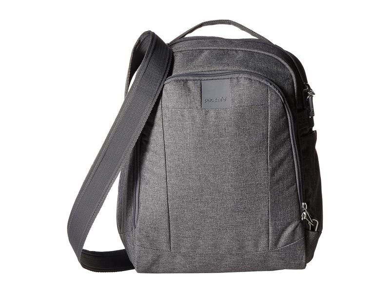 パックセーフ メンズ ハンドバッグ バッグ Metrosafe LS250 Shoulder Bag Dark Tweed