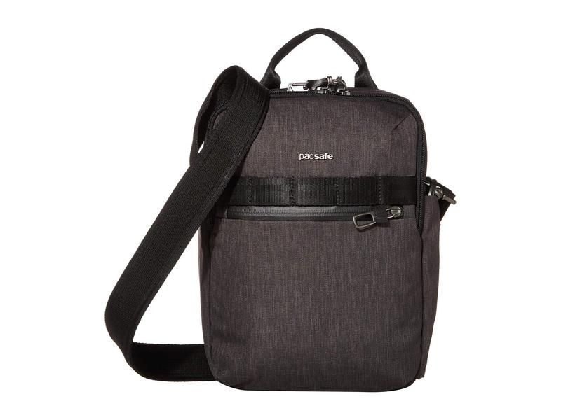 パックセーフ メンズ ハンドバッグ バッグ Metrosafe X Vertical Anti-Theft Crossbody Bag Carbon