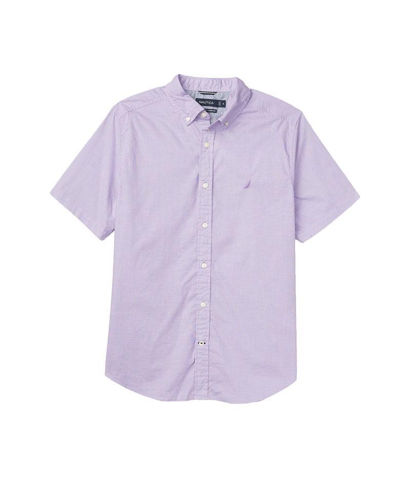 ナウティカ メンズ シャツ トップス Woven Navtech Solid Purple