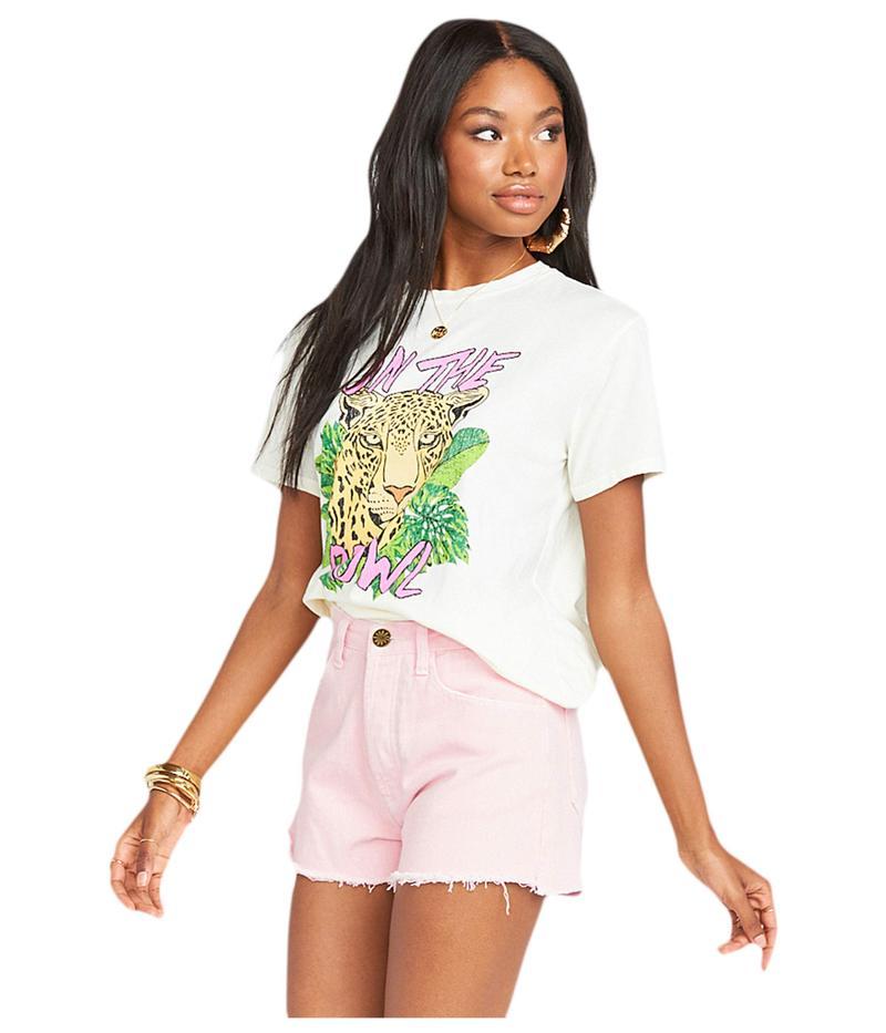 ウミーユアムーム レディース ハーフパンツ・ショーツ ボトムス Arizona High-Waisted Shorts Pink City