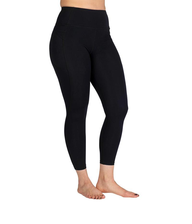 スカートスポーツ レディース カジュアルパンツ ボトムス All-In High-Rise Leggings Black