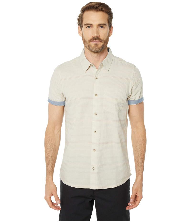 ドード アンドコー メンズ シャツ トップス Airlift Short Sleeve Shirt Slim Salt