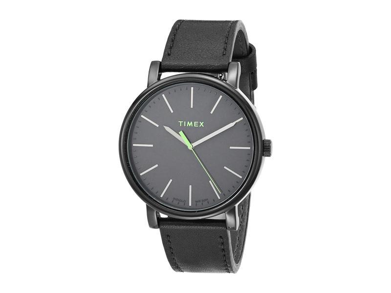 タイメックス メンズ 腕時計 アクセサリー 42 mm Originals Black/Black/Bla