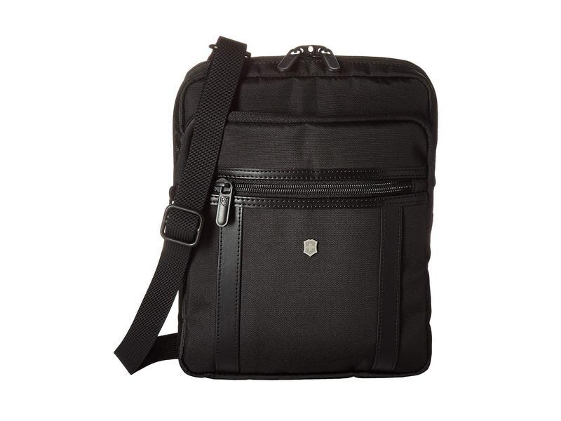 ビクトリノックス メンズ ハンドバッグ バッグ Werks Professional 2.0 Crossbody Tablet Bag Black