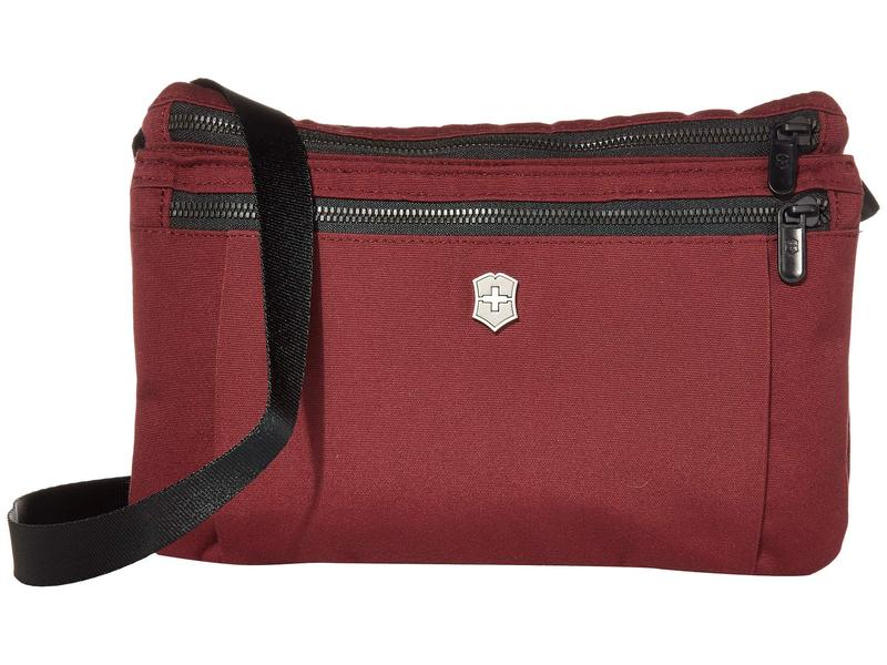 ビクトリノックス メンズ ハンドバッグ バッグ Compact Crossbody Bag Beetroot