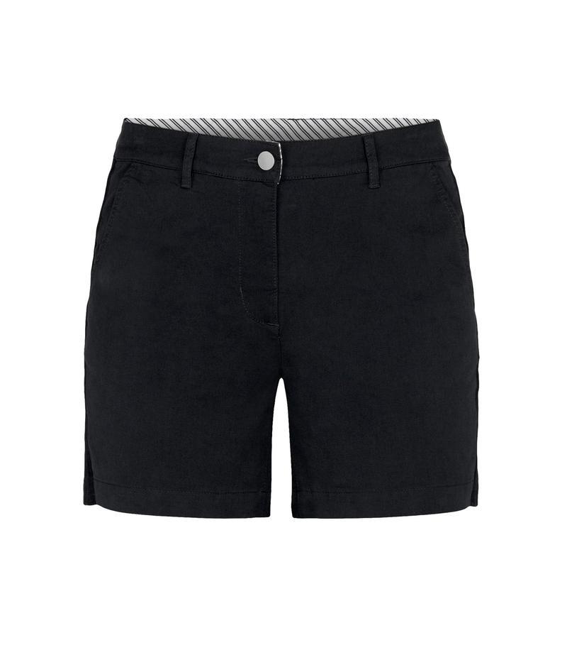 トリバル レディース ハーフパンツ・ショーツ ボトムス Fly Front Shorts w/ Side Tape Black