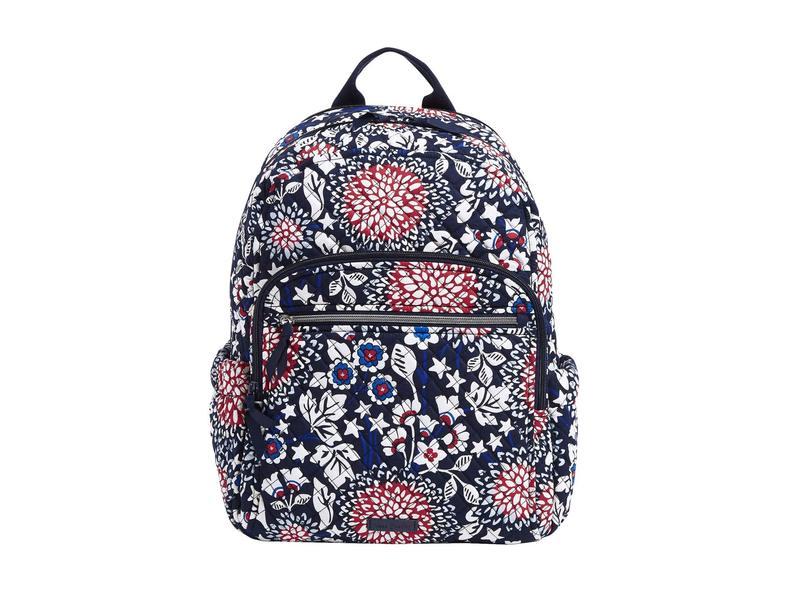 ベラブラッドリー レディース バックパック・リュックサック バッグ Iconic Campus Backpack Red/White/Bloss