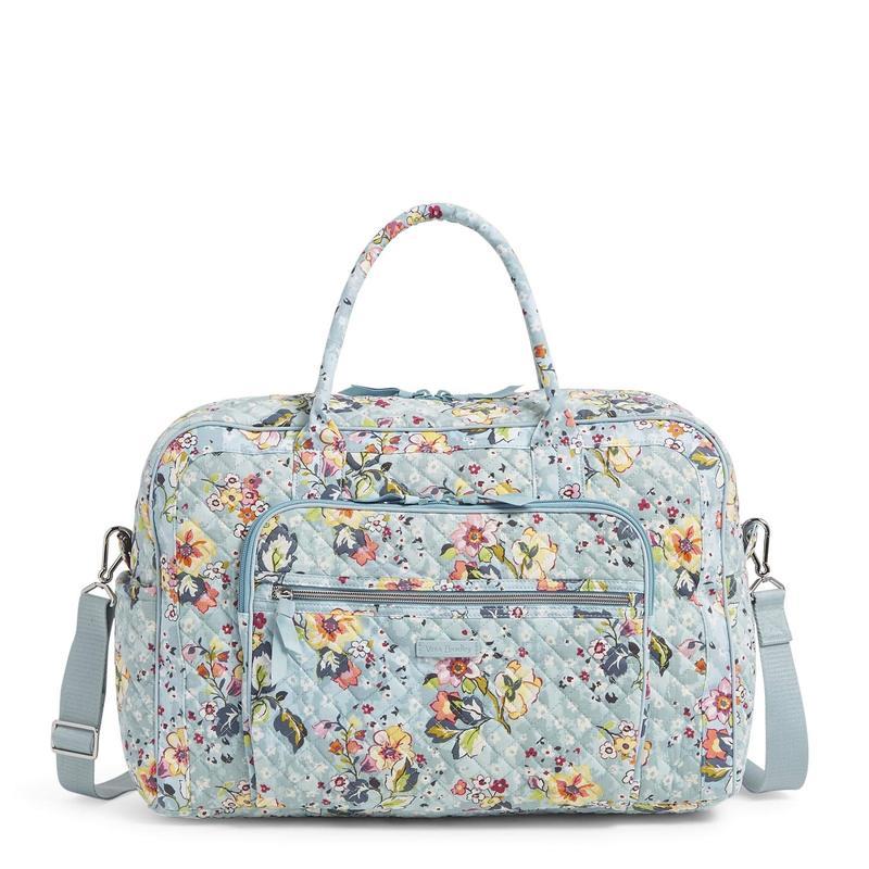 ベラブラッドリー レディース ボストンバッグ バッグ Iconic Weekender Travel Bag Floating Garden