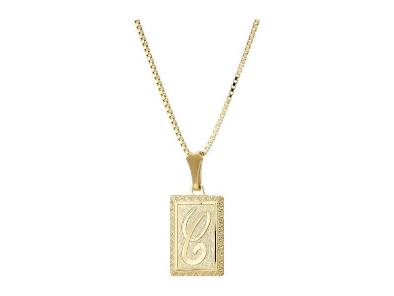 バネッサモーネイ レディース ネックレス・チョーカー・ペンダントトップ アクセサリー The London Initial Necklace Gold/C