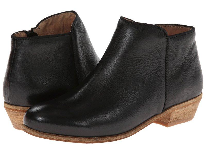 ソフトウォーク レディース ブーツ・レインブーツ シューズ Rocklin Black Tumbled Leather