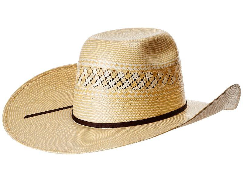 エムエフウエスターン メンズ 帽子 アクセサリー Shantung 20x Punchy Ivory/Wheat
