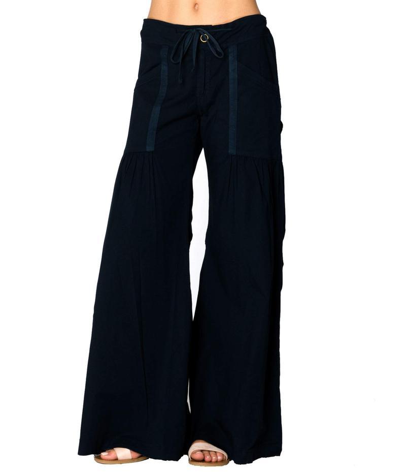 エックスシーブイアイ レディース カジュアルパンツ ボトムス Willow Wide Leg Stretch Poplin Pants Hawswer Pigment