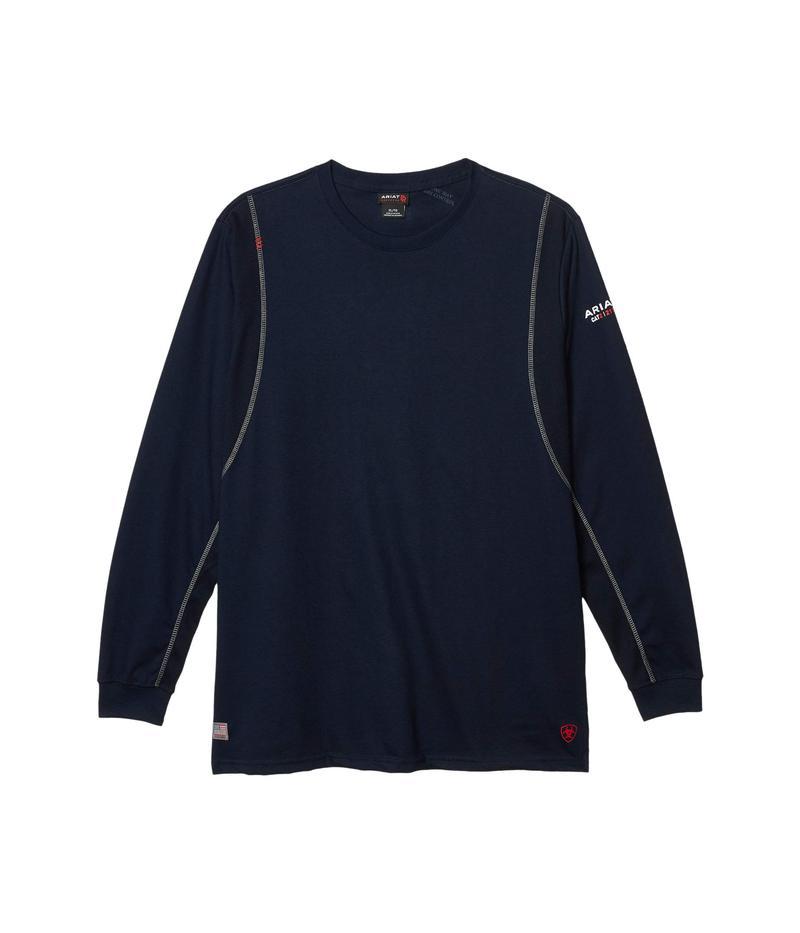 アリアト メンズ シャツ トップス FR AC Crew T-Shirt Navy
