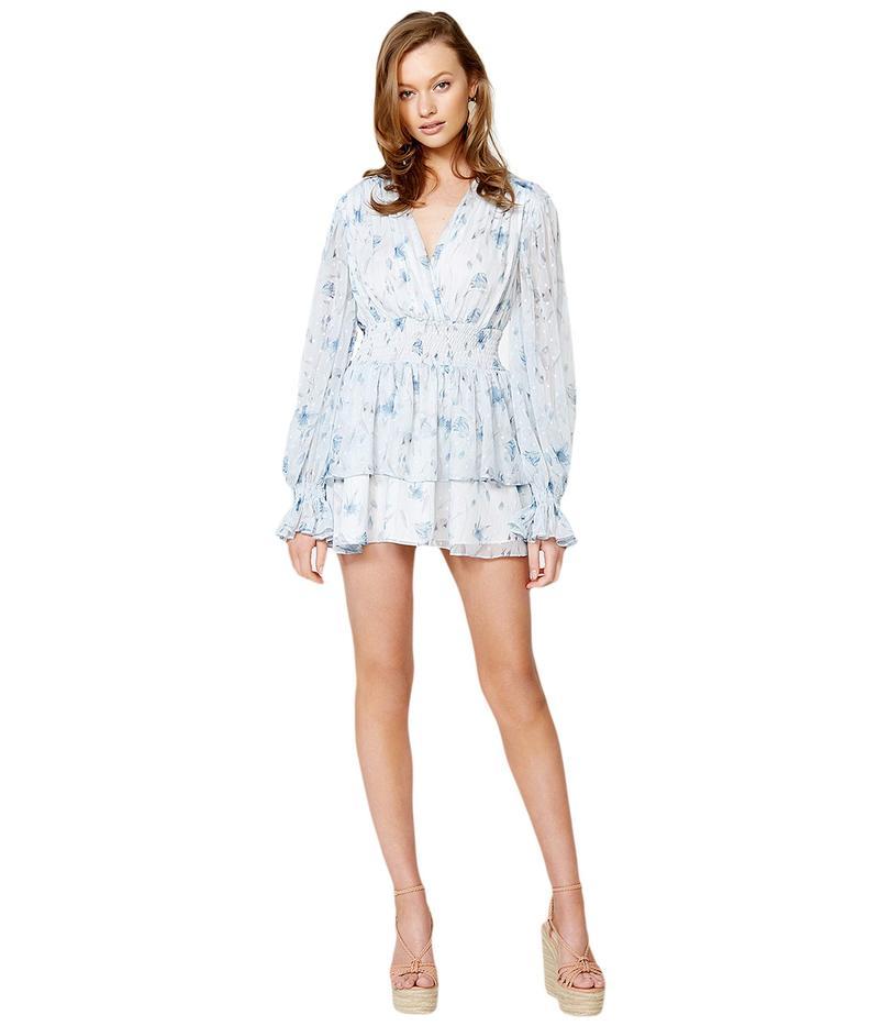 バードット レディース ワンピース トップス Malina Dress Blue Lily
