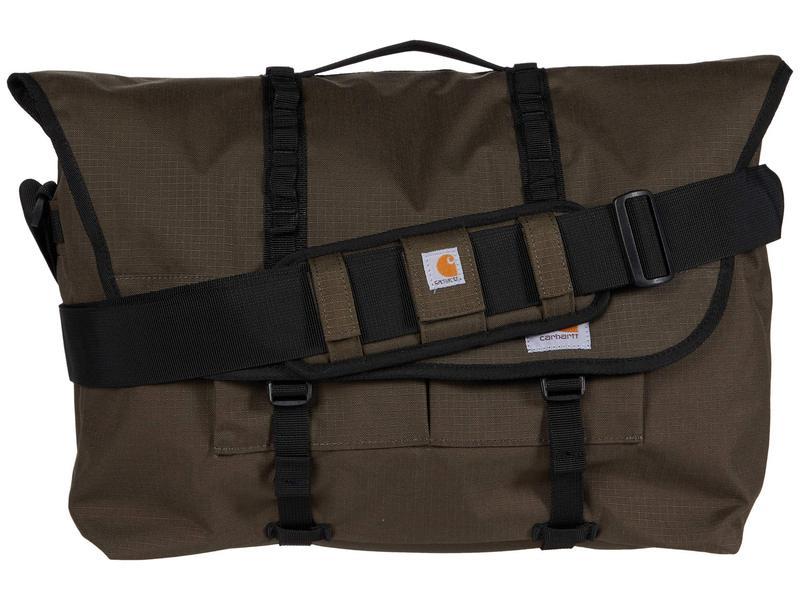 カーハート メンズ ショルダーバッグ バッグ Messenger Bag Tarmac