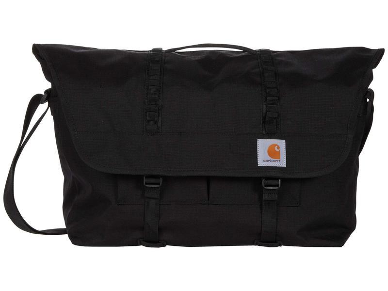 カーハート メンズ ショルダーバッグ バッグ Messenger Bag Black