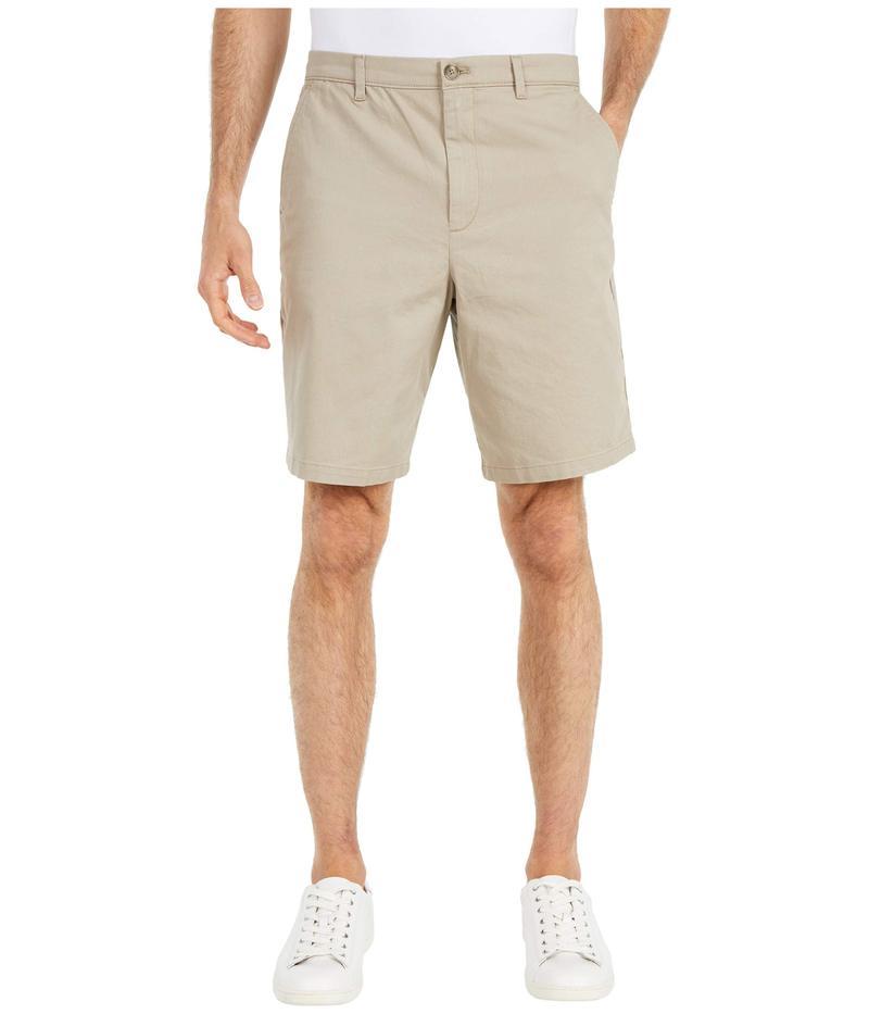 カルバンクライン メンズ ハーフパンツ・ショーツ ボトムス Refined Stretch Chino Shorts Sueded Taupe