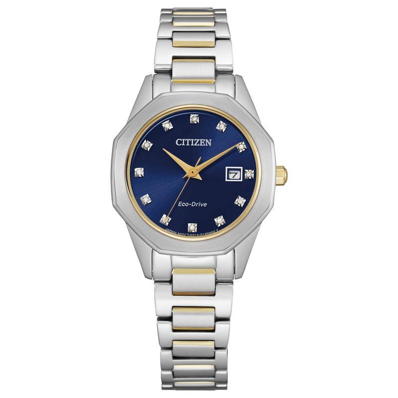 シチズンウォッチ レディース 腕時計 アクセサリー Corso EW2584-53L Two-Tone