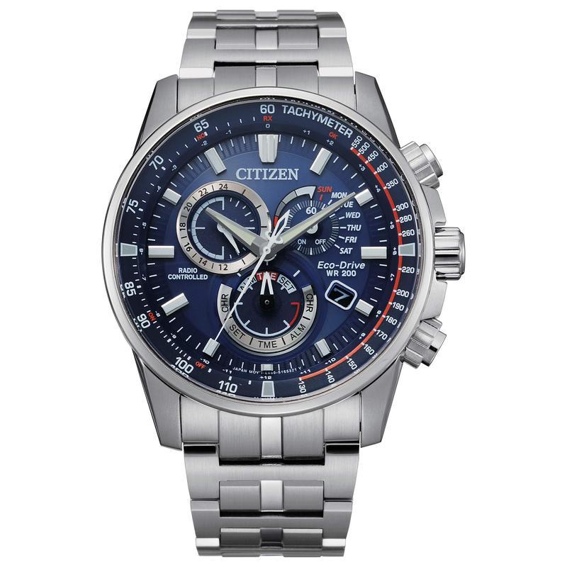 シチズンウォッチ メンズ 腕時計 アクセサリー PCAT CB5880-54L Silver-Tone