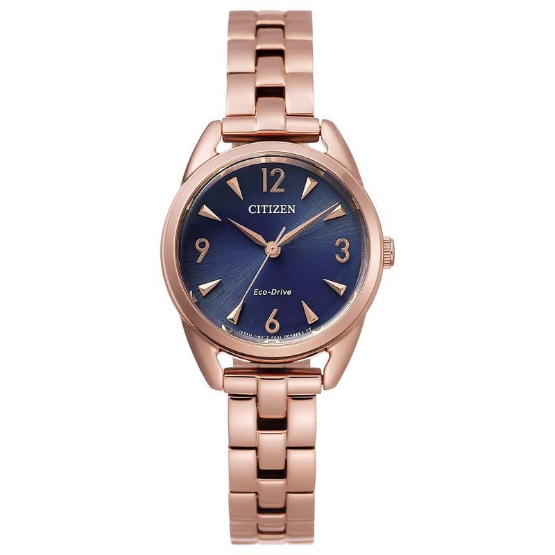 シチズンウォッチ レディース 腕時計 アクセサリー Drive EM0688-78L Pink Gold-Tone