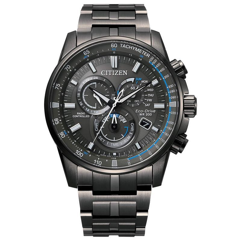 シチズンウォッチ メンズ 腕時計 アクセサリー PCAT CB5887-55H Gray