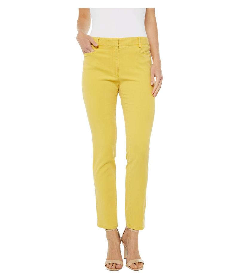 エリオットローレン レディース カジュアルパンツ ボトムス Pigment Dye Fly Front Ankle Pants Yellow