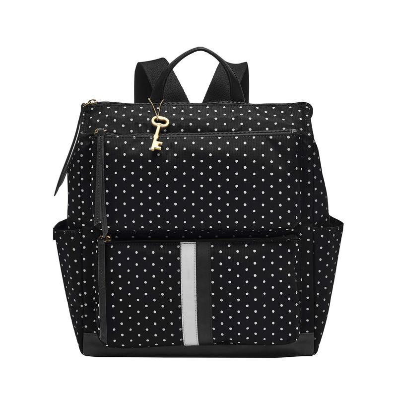 フォッシル レディース バックパック・リュックサック バッグ Jenna Backpack Dot