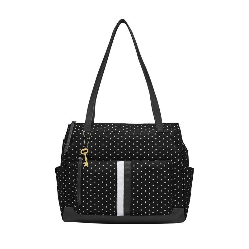 フォッシル レディース ハンドバッグ バッグ Jenna Shopper Dot