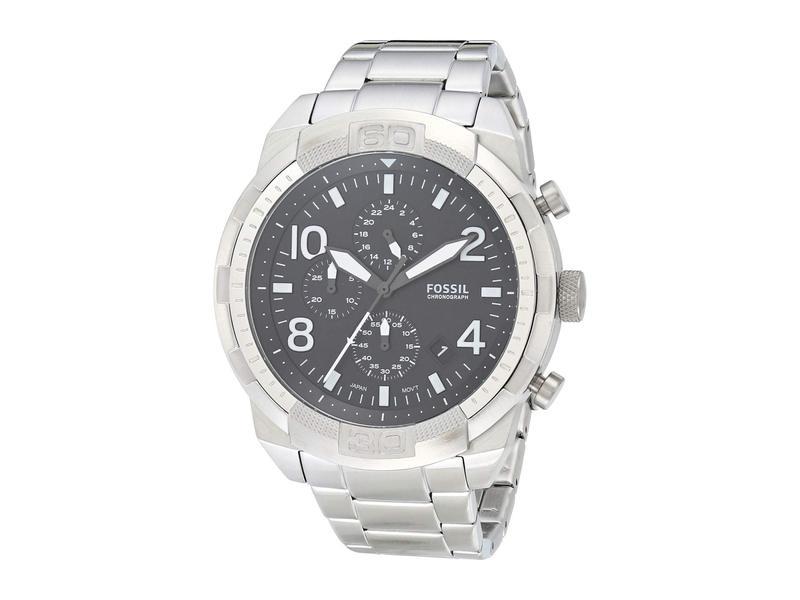 フォッシル メンズ 腕時計 アクセサリー Bronson Chronograph Watch FS5710 Silver/B