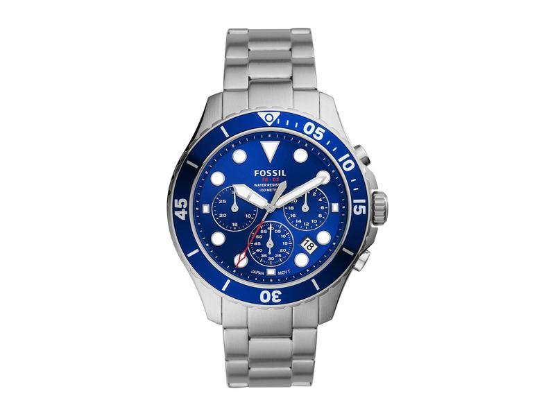 フォッシル メンズ 腕時計 アクセサリー FB-03 Chronograph Watch FS5724 Silver/B