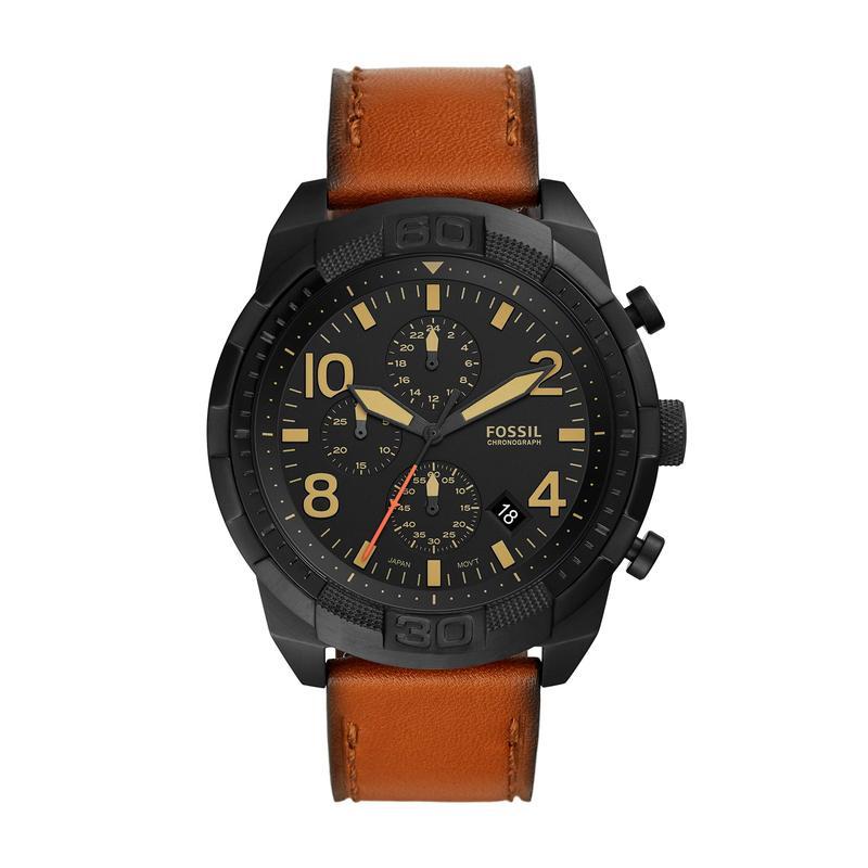 フォッシル メンズ 腕時計 アクセサリー Bronson Chronograph Watch FS5714 Brown/Bl