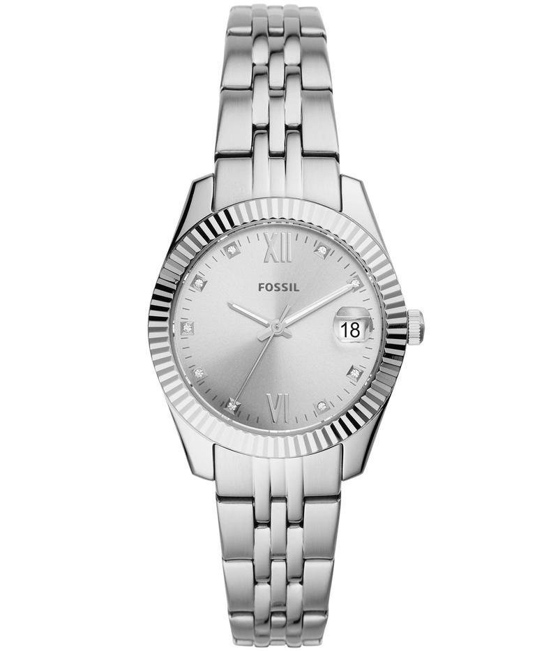 フォッシル レディース 腕時計 アクセサリー Scarlette Mini Three-Hand Watch Es4897 Silver/S
