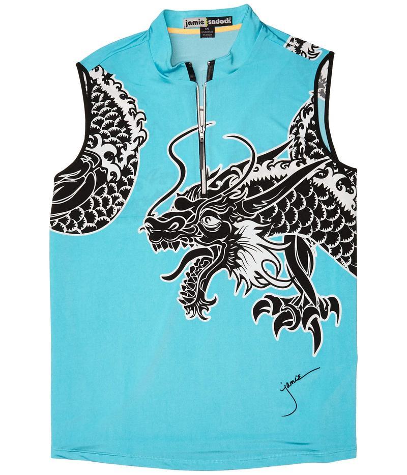 ジャイミーサドック レディース シャツ トップス Dragon Print Sleeveless Top Fiji