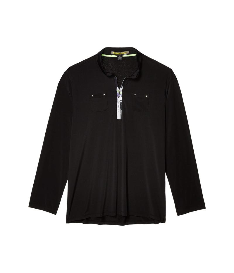 ジャイミーサドック レディース シャツ トップス Sunsense UVP 50 Long Sleeve Top Jet Black