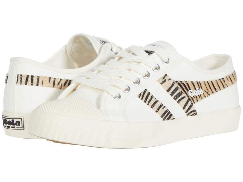 ゴラ レディース スニーカー シューズ Coaster Safari Off-White/Zebra