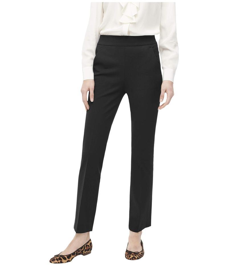 ジェイクルー レディース カジュアルパンツ ボトムス Remi Pants in Bi-Stretch Cotton Black