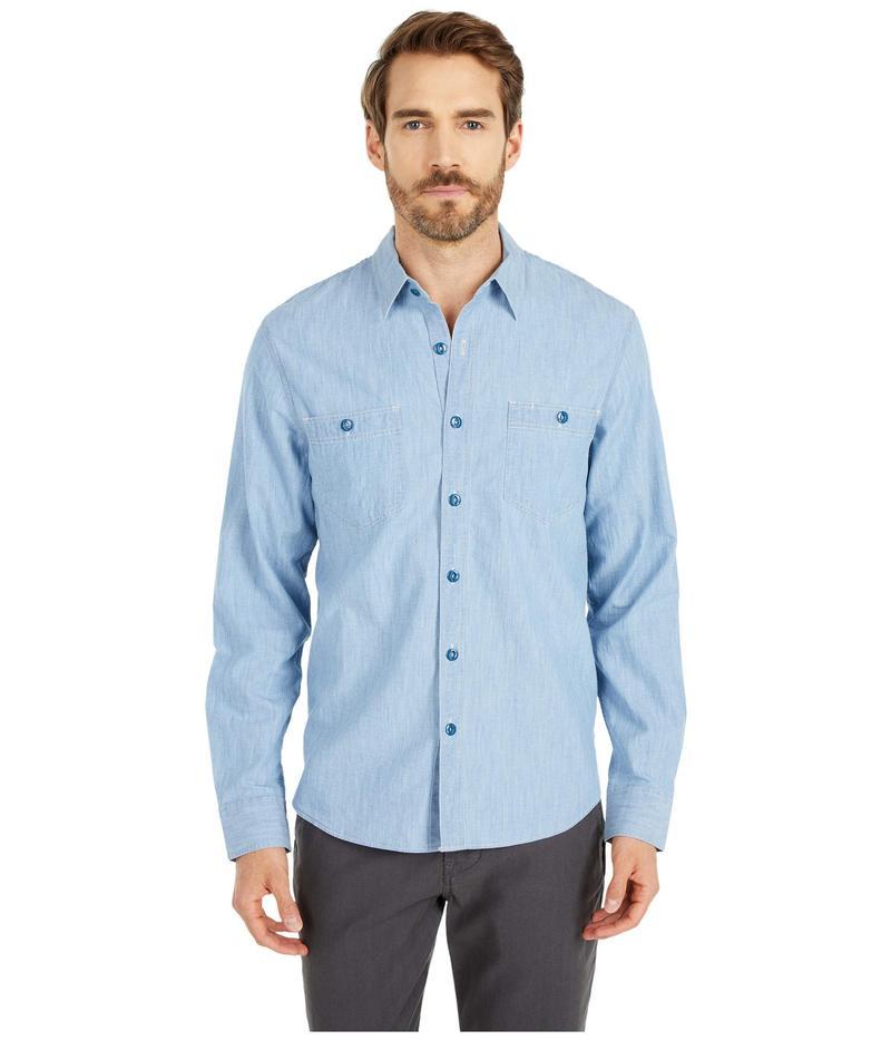 ラッキーブランド メンズ シャツ トップス Jaybird Workwear Shirt Blue