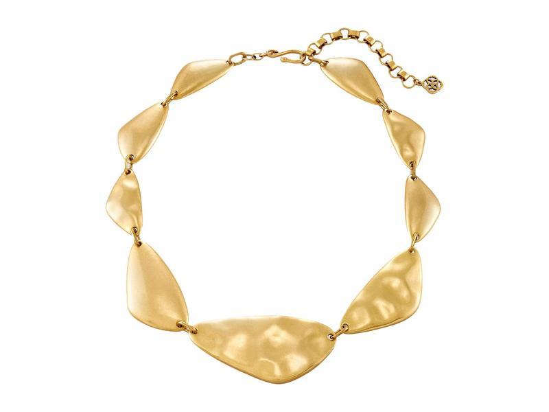 ケンドラスコット レディース ネックレス・チョーカー・ペンダントトップ アクセサリー Kira Statement Necklace Vintage Gold Me
