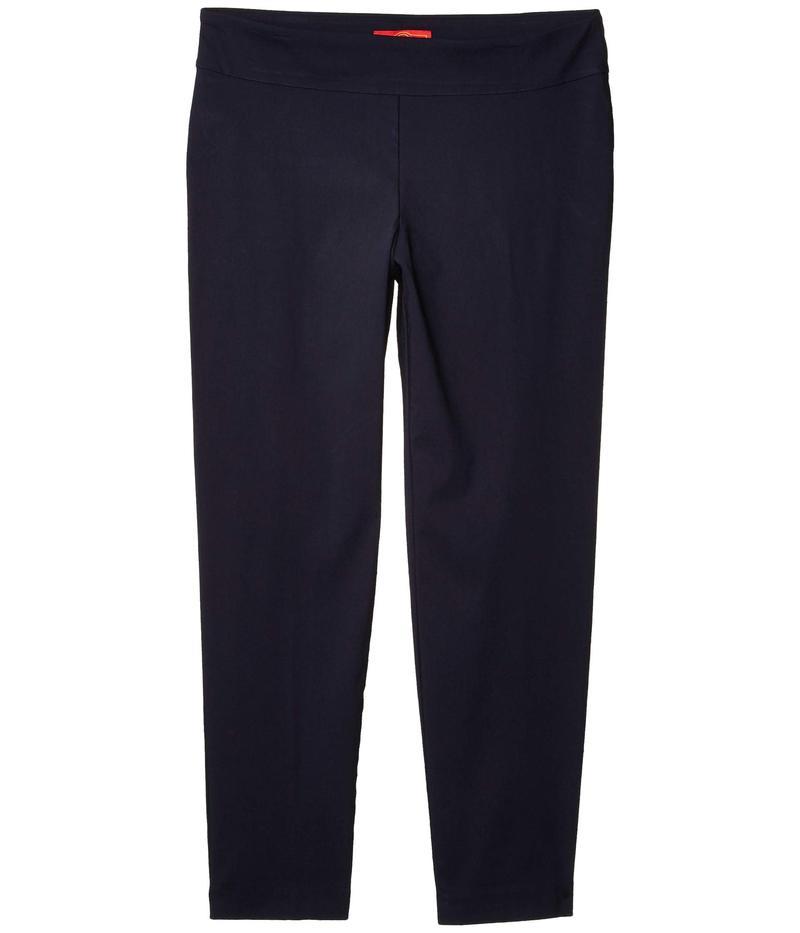クレイジーラリー レディース カジュアルパンツ ボトムス Plus Size Pull-On Ankle Pants Navy