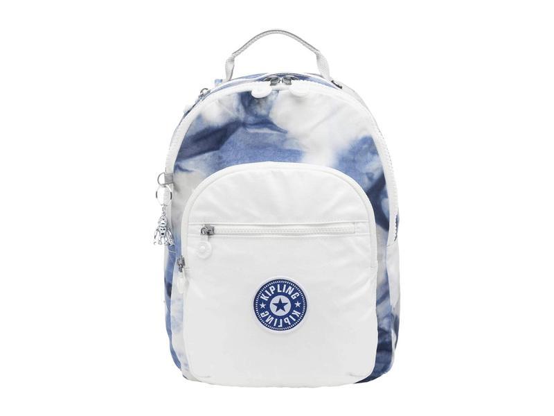 キプリング レディース バックパック・リュックサック バッグ Seoul S Backpack Tie-Dye Blue La