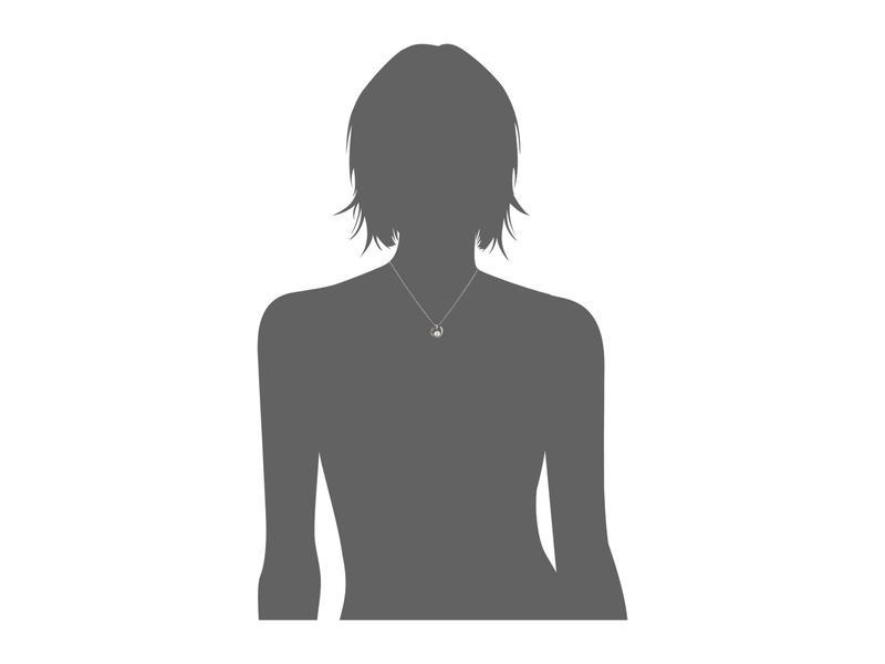 マジョリカ レディース ネックレス・チョーカー・ペンダントトップ アクセサリー 8 mm Infinity Round Pearl Pendant Necklace WhiteiwXukPOZT