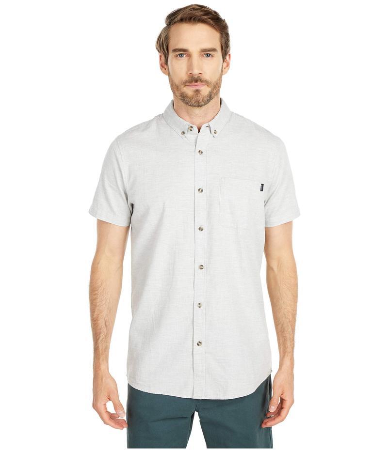 リップカール メンズ シャツ トップス Our Time Short Sleeve Shirt Off-White