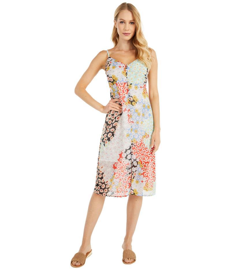 サンクチュアリー レディース ワンピース トップス Everyday Slip Dress Picnic Print